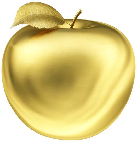 яблоко из золота