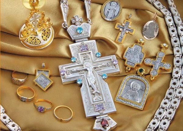 золотые и серербрные изделия