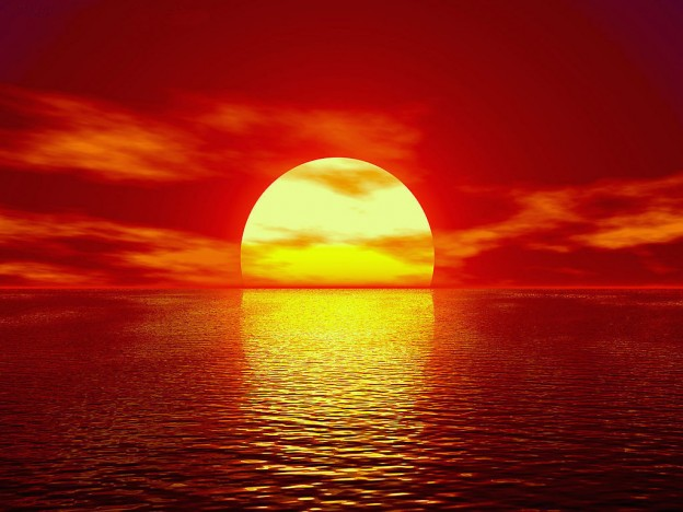 заход солнца2