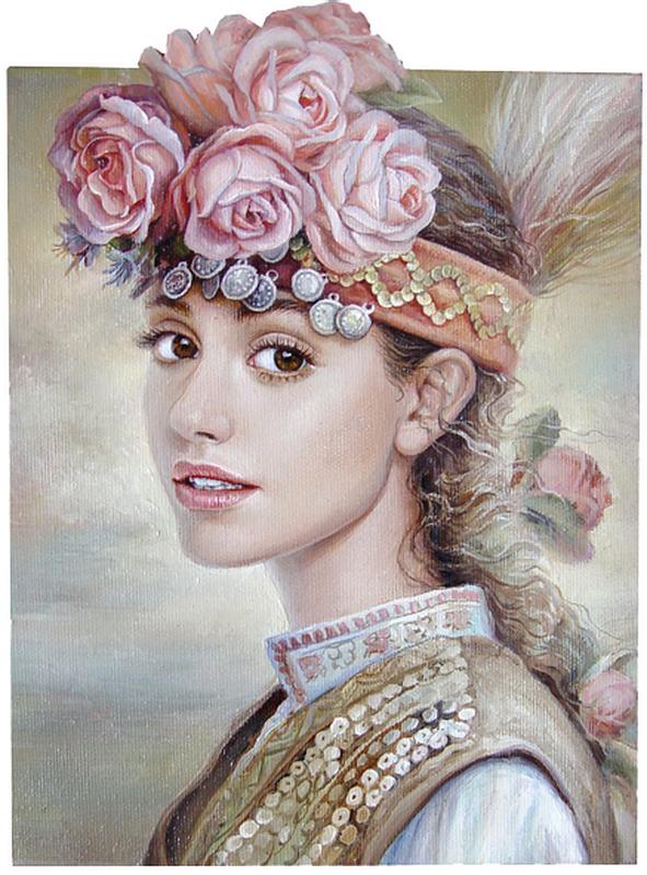 портрет - жанр
